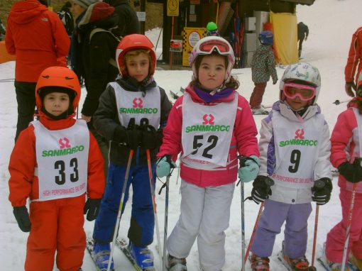 Corsi per bambini 4-10 anni al Nevegal