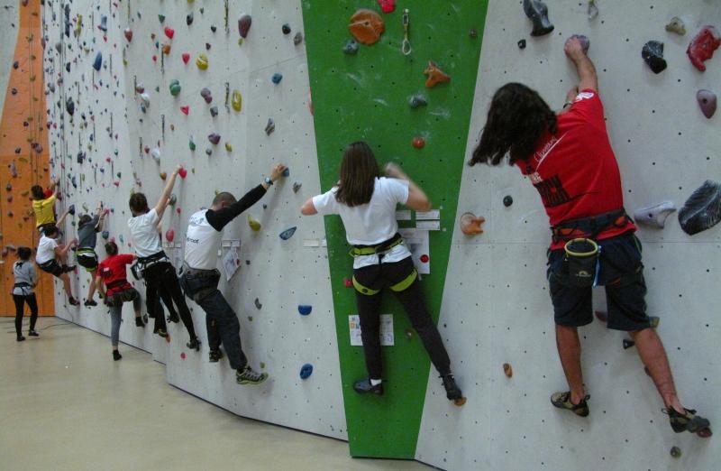 Lezioni di arrampicata sportiva